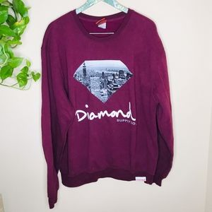Diamond Supply Co. Guy's Pullover Sweatshirt